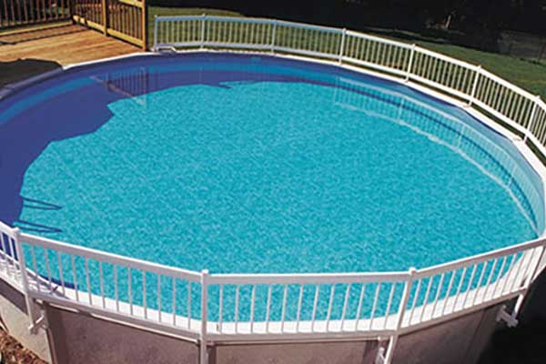 GLI Pool Products Above Ground Fence Fence Post