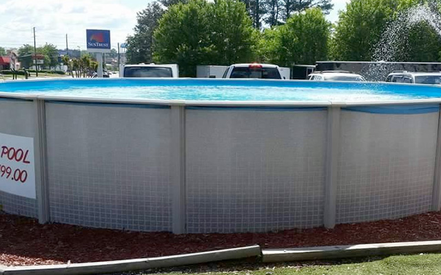 27\' Reprieve Above Ground Pool ONLY $85 per month, includes FREE ...